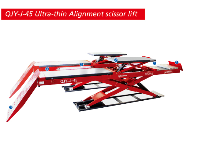 Ultra-thin Alignment Scissor Lift QJY-J-45
