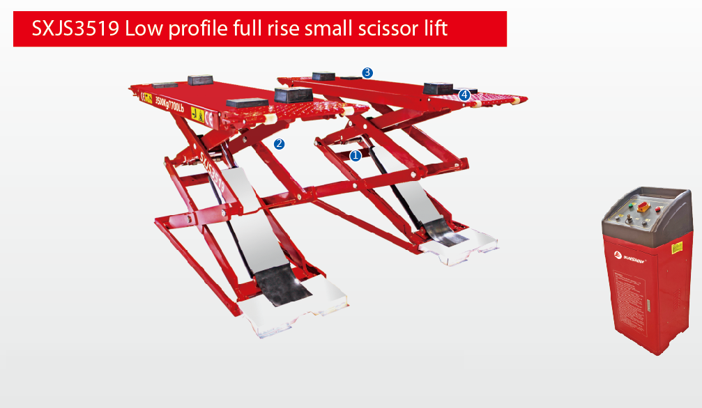 Ultra-thin Small Scissor Lift SXJS3019